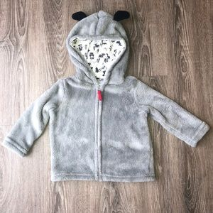 Other - Dog Fleece Zipup Hoodie
